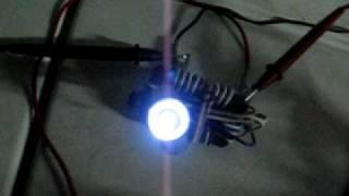 Joule Thief running on Vinagar002