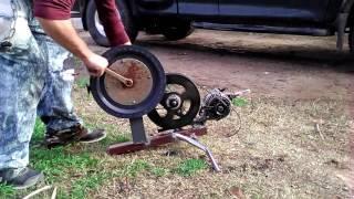 Generator from mazda alternator (not modified)