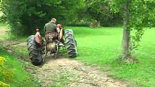 Electric Tractor , Massey Ferguson Deluxe