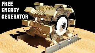Free Energy Generator 2017, No Load Generator, Magnet Motor, Overunity