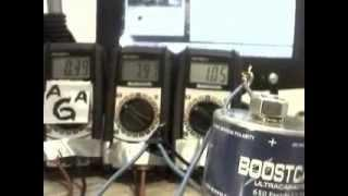 kers bike & kinetic energy charging ultracapacitor turnigy watt meter power analyzer