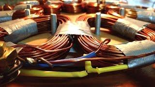 How to make Stator Coil for homemade vertical axis diy wind turbine vawt pma generator stator coils