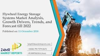 Flywheel Energy Storage Systems MarketAnalysis, Growth Drivers, Trends, and Forecast till 2022