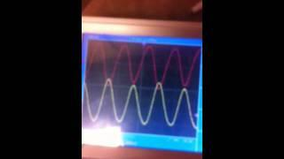 Stan Meyer waveform with tube cell and Vic