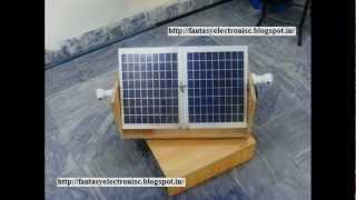 automatic solar tracking system with complete project report, code and circuit diagram