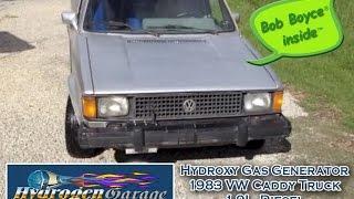 HHO on VW Caddy Pickup Truck 1.9L DIESEL  & Ford 7.3L Diesel Truck