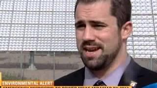 CBS-8 coverage of MCAS Miramar Microgrid