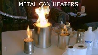 "Homemade ""Metal Can"" Air Heater! - Survival/SHTF Air Heater! - DIY (uses no electricity!)"