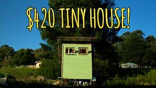 Couple Builds Tiny House for Just $420!