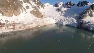 Drones over the Arctic - Polar Ice Shelves Melting (HD)
