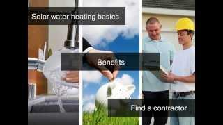 Solar Water Heating Basics for Homeowners