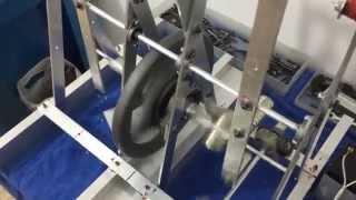Magnets provide power! and speed! Magnetic machine magnet motor engine built by oren gertel