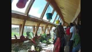 Earthship Tour near London, Ontario