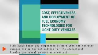 Cost, Effectiveness, and Deployment of Fuel Economy Technologies for Lightduty Vehicles | Ebook
