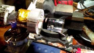 Thermoacoustic linear alternator testing