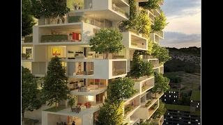 First Vertical Forest In Asia To Have Over 3,000 Plants And Turns CO2 Into 132 Pounds Of Oxygen Per