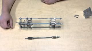 NCSU - ECE535 - Demo of a Permanent Magnetic Bearing