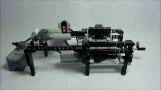 LEGO Continuously Variable Transmission (CVT) by Sheepo