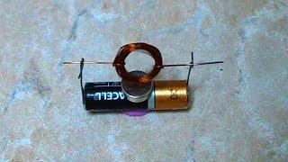 How To Make a Simple Homopolar Motor
