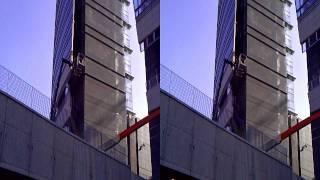 Milano grattacieli Porta Nuova e giardini verticali 3D