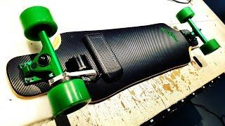 "DIY Electric Longboard  ""Green Machine"""