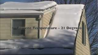 What happens when you get snow on your Solar PV Panels modules? - Enphase micro inverters NJ
