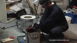 Homemade Electric Aluminum Foundry - Casting Ingots