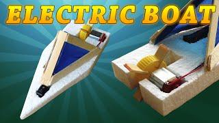 How to Make a Homemade Electric Boat (very easy to do)