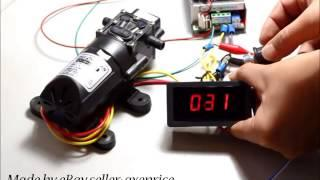DC 6-30V 8A MOTOR PWM SPEED CONTROL WITH DIGITAL DISPLAY & SWITCH