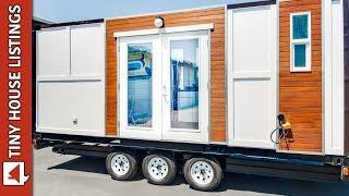 Lovely Shipping Container Home On Wheels