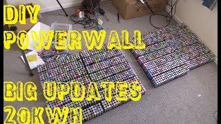 Mikes DIY Powerwall Update 80 - 20kWh Big Updates and More.