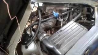 Fuel vaporizer installed on a 2008 Suzuki APV, 1.6 gasoline engine