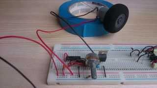 PWM DC motor speed control circuit - Part 1