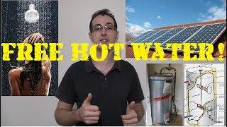 Mikes DIY Powerwall Update 60 - Free Hotwater!