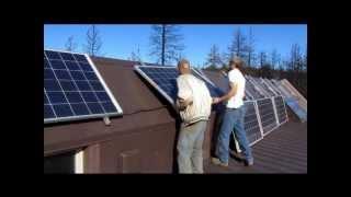 Sustainable Solar Home Construction Clip 8.wmv
