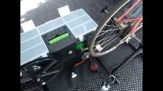 Crank a Watt emergency survival human power hand crank bike pedal free energy generator