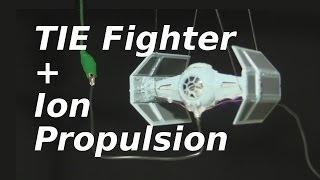 How to add Ion Propulsion to Star Wars TIE Fighter Model