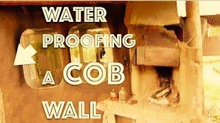 WATERPROOFING a COB wall