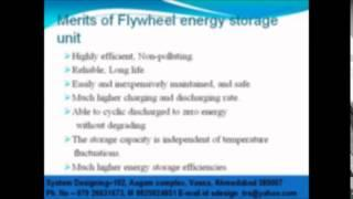 Marits of flywheel energy storage unit System Designing 919898368188