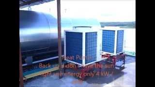 Peerapat solar hybrid heat pump siam thana hotel