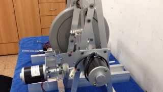 The sound of Magnetic System flywheel energy storage or free energy low tech devices