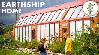 Earthship Home - Young Man's Inspiring Building & Living Experience