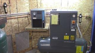 Compressed Air Dryer and Filtration Installation