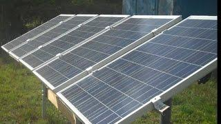 DIY Solar Panels - 5 Windy Nation 100 W Solar Panels