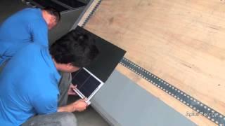 Aplus Solar Roof Shingle Installation Process