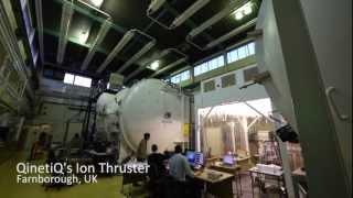 The Ion Thruster at QinetiQ, Farnborough