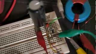 Ultra Low voltage 45mV Joule Thief -Potential to be powered by peltier using body heat only