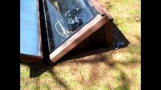 DIY Solar Batch Water Heater Build Part 3