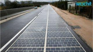 Normandy, France Builds World's First Solar-Road