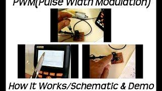 PWM(Pulse Width Modulation) Circuit(DC Motors/Lights/LED's)
